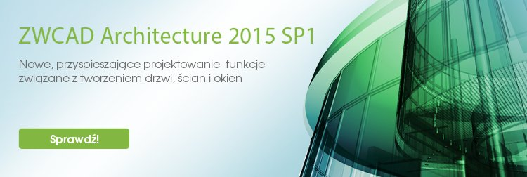 ZWCAD Architecture 2015 SP1 release